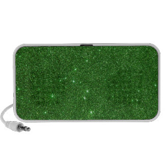 Image of Bright Green Glitter Notebook Speakers