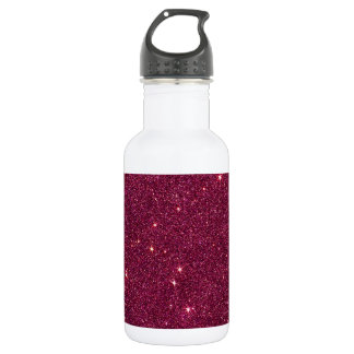 Image of bright pink glitter 532 ml water bottle