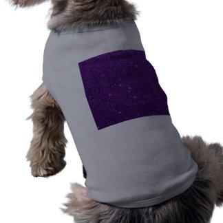 Image of Bright Purple Glitter Pet Clothes