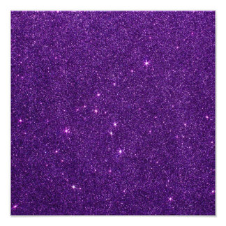 Image of Bright Purple Glitter Photograph