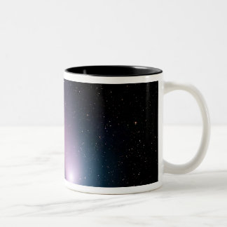 Image of comet C/2001 Q4 (NEAT) Two-Tone Coffee Mug