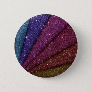 Image of Geometrical Glitter 6 Cm Round Badge