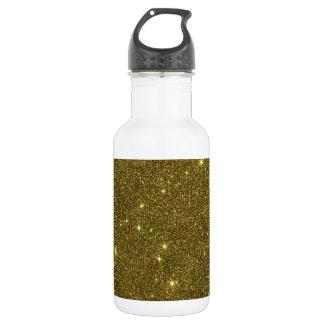 Image of gold Glitter 532 Ml Water Bottle