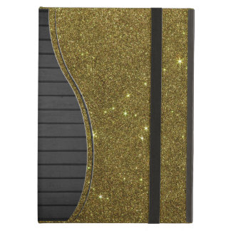 Image of gold Glitter Cover For iPad Air