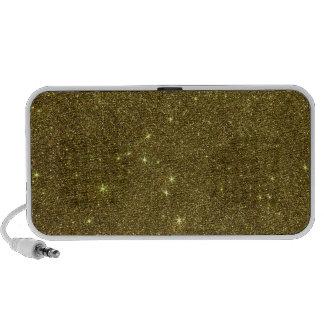 Image of gold Glitter Laptop Speaker