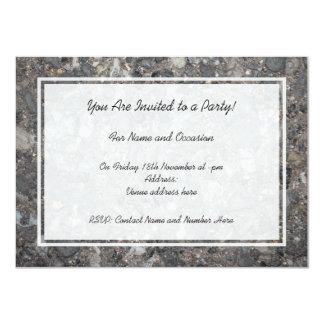 Image of Ground with Stones 11 Cm X 16 Cm Invitation Card