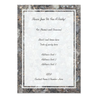 Image of Ground with Stones 13 Cm X 18 Cm Invitation Card