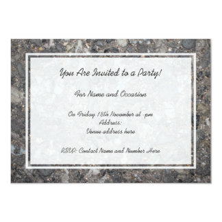 Image of Ground with Stones 11 Cm X 16 Cm Invitation Card