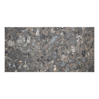 Image of Ground with Stones Photo Card Template