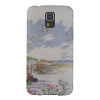 image of lighthouse and house galaxy s5 cover