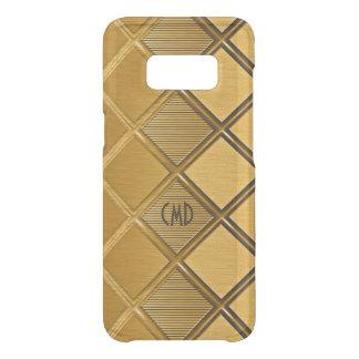 Image Of Metallic Gold Geometric Pattern Uncommon Samsung Galaxy S8 Case