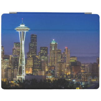Image of Seattle Skyline in morning hours. iPad Cover