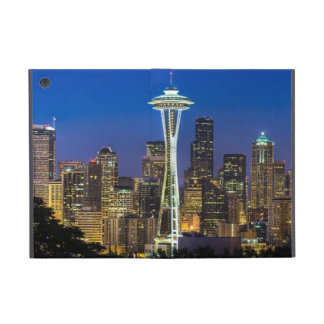 Image of Seattle Skyline in morning hours. iPad Mini Case