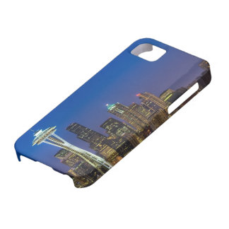 Image of Seattle Skyline in morning hours. iPhone 5 Cover