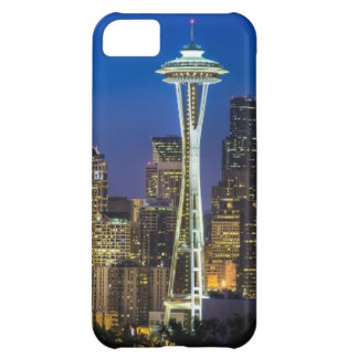 Image of Seattle Skyline in morning hours. iPhone 5C Case