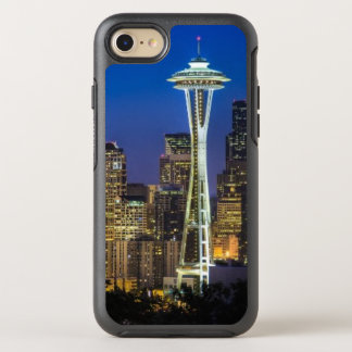 Image of Seattle Skyline in morning hours OtterBox Symmetry iPhone 7 Case