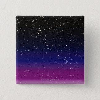 Image of Space 15 Cm Square Badge