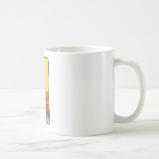 image of tarot strenght card coffee mug