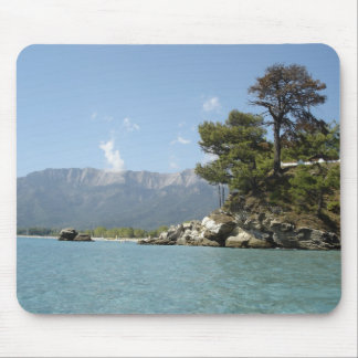 IMAGE OF THASSOS, GREEK ISLAND MOUSE MAT