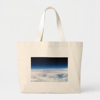 Image of the Exosphere of the Earth's Atmosphere Jumbo Tote Bag
