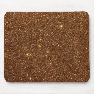 Image of trendy copper Glitter Mouse Mat