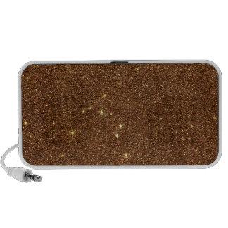 Image of trendy copper Glitter Speakers
