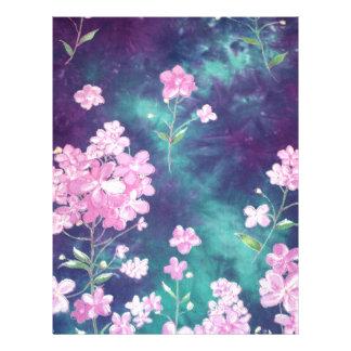 image of violets flyers