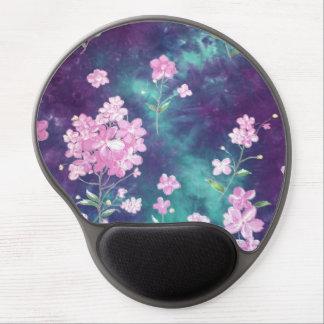 image of violets gel mouse pad