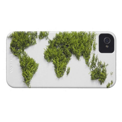 image of world map Case-Mate iPhone 4 cases