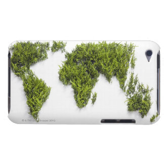 image of world map iPod touch covers
