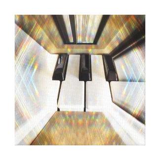 Image piano canvas prints
