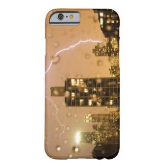 Image taken through rain splattered window barely there iPhone 6 case