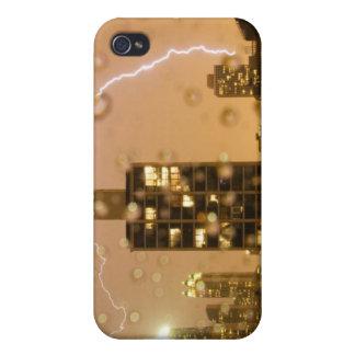 Image taken through rain splattered window iPhone 4 cases