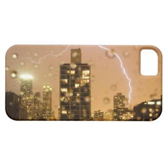 Image taken through rain splattered window iPhone 5 covers