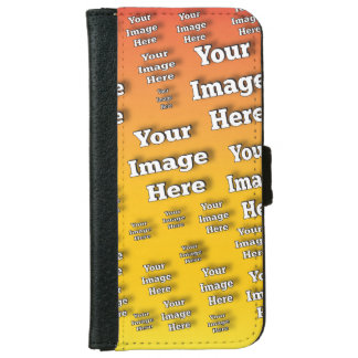 Image Template iPhone 6 Wallet Case