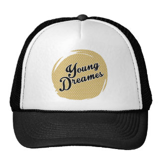 image young dreams trucker hat
