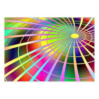imagem abestrato foras circulares business cards