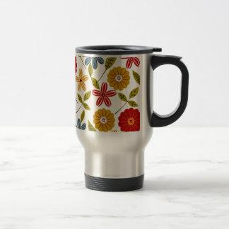 imagem com flores mugs