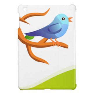 imagem de passarinho iPad mini case