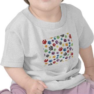 imagem de patinhas t-shirt