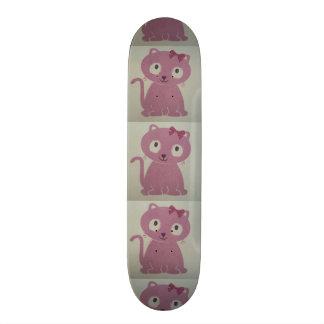 imagem de um gato skates