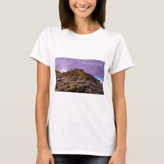 Images of Ireland for Women's-T-Shirt-White T-Shirt