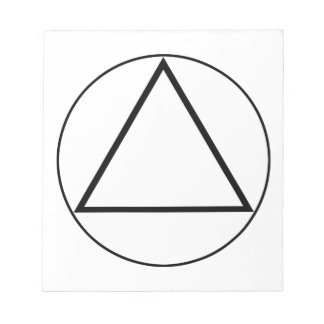 Images of number 3: the triangle scratch pads