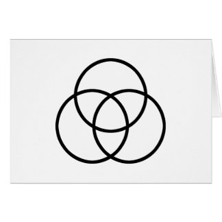 Images of number 3: Triquetra Greeting Card