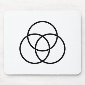 Images of number 3: Triquetra Mouse Pad