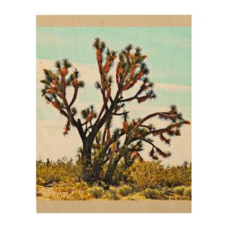 "ImagesByMJ ""Joshua Tree"" Wood Print"