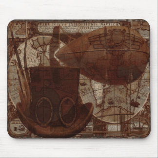 Imaginarium Steampunk Mixed Media Mouse Mat