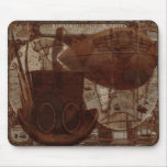Imaginarium Steampunk Mixed Media Mouse Pad