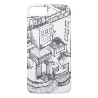 Imaginary city iPhone 7 case