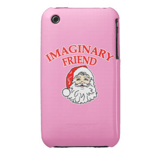 Imaginary Friend Santa Claus iPhone 3 Covers